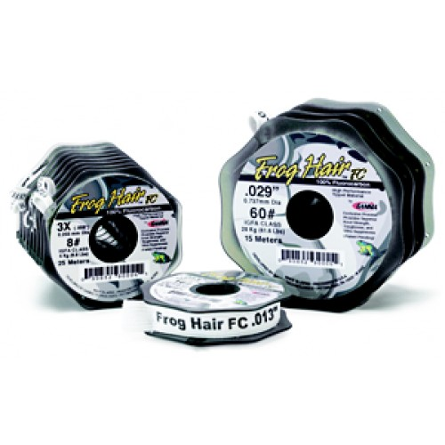 Black Knight/Frog Hair Frog Hair Fluorocarbon Tippet