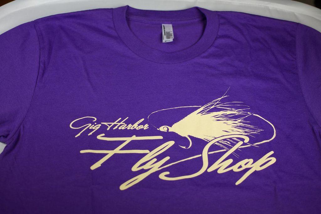 Gig Harbor Fly Shop Gig Harbor Fly Shop Logo T-shirt