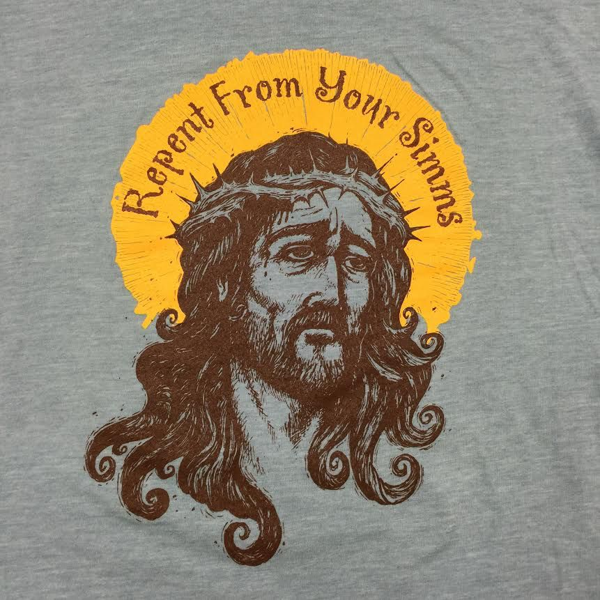 New Phase Gig Harbor Fly Shop Repent T-Shirt