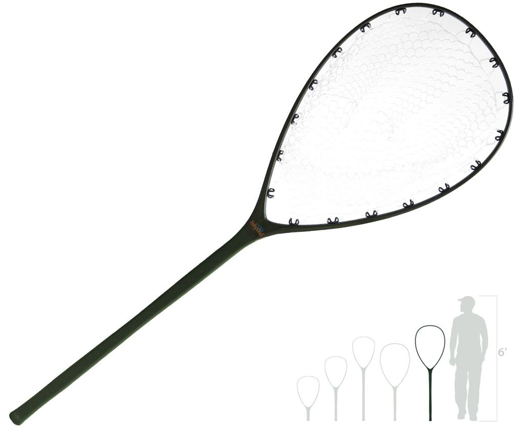 Fishpond Composite landing nets. Strong, light, and durable.