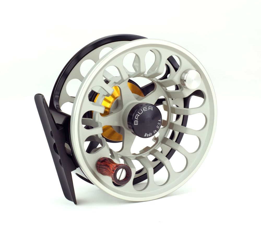 Bauer Fly Reels The new high performance RX replaces the Rogue Reel now with Double the power, faster retrieve and lighter in hand.