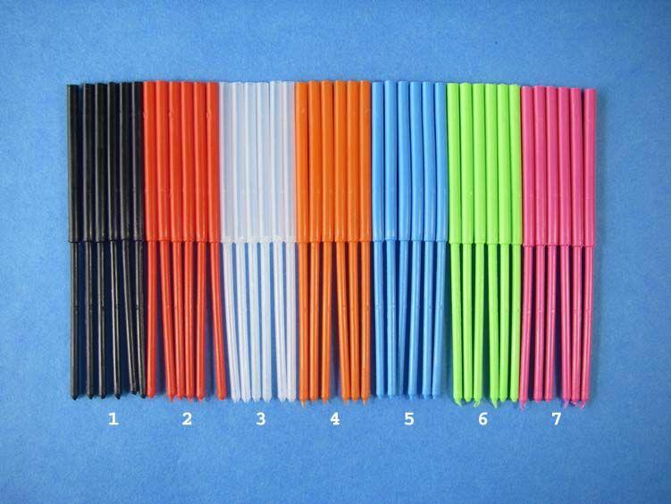 Protubes Pro Flexitube, 40/40, UV Fl. Orange