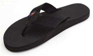 Rainbow Sandals Rainbow Sandals W's The Classics - Single Layer Classic Rubber with a Nylon Strap
