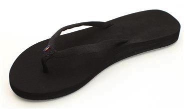 Rainbow Sandals Rainbow Sandals W's Low Cloud - Single Layer Wedge Soft Top with Arch Support and Polyester Strap.