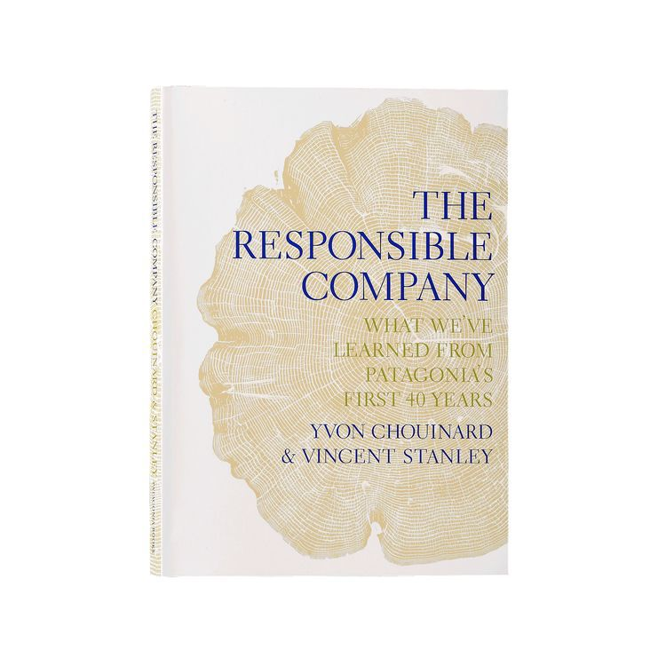 Patagonia Patagonia Book - The Responsible Company: What We've Learned From Patagonia's First 40 Years By Yvon Chouinard & Vincent Stanley