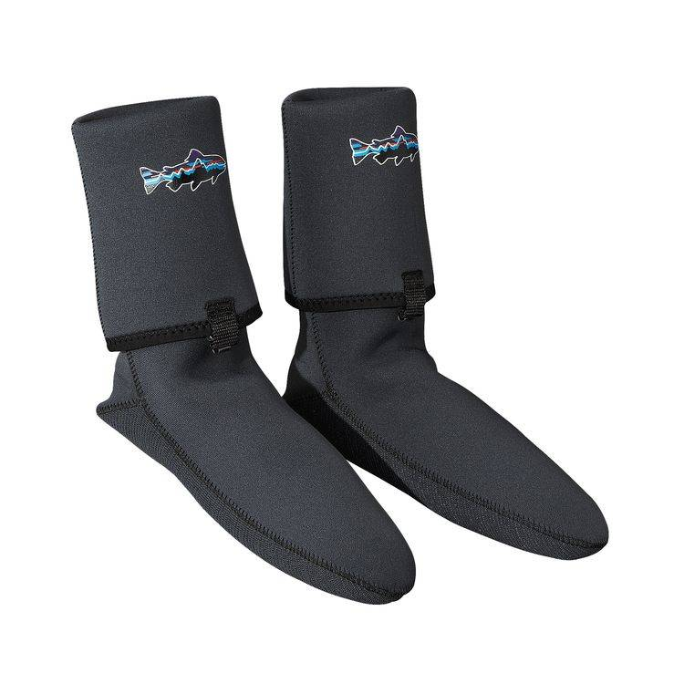 Patagonia These polyester grid-lined neoprene socks provide warmth without bulk.