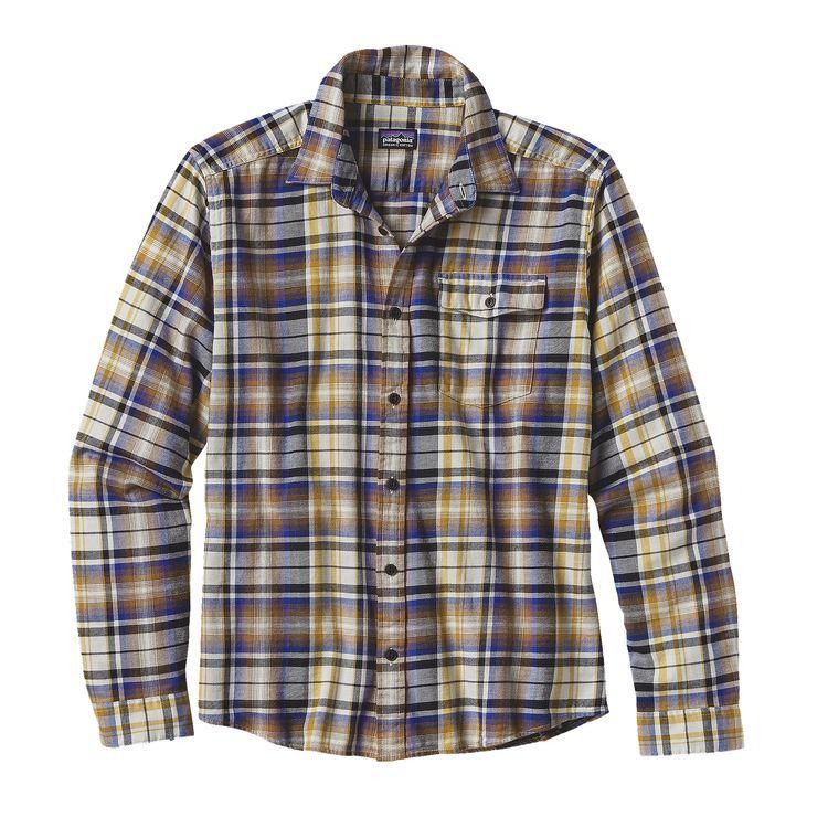 Patagonia Patagonia M's L/S LW Fjord Flannel Shirt