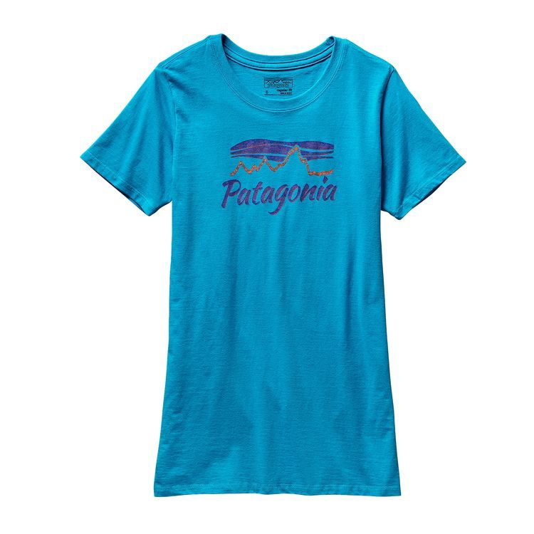 Patagonia Patagonia W's Morning Glow Cotton/Poly Crew T-Shirt
