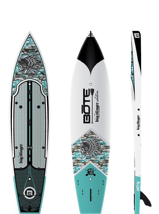 Bote LLC Bote 12' Rackham Bugslinger Paddleboard