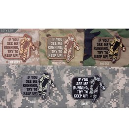 Patches Mil-Spec Monkey EOD Running, ACU