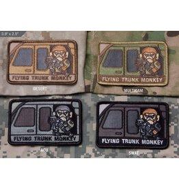 Patches Mil-Spec Monkey Flying Trunk Monkey, SWAT