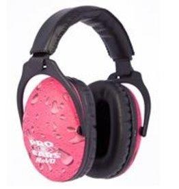 Ear Pro REVO 26 Pink Rain Ear Muffs, 26 db rating, by Pro Ears