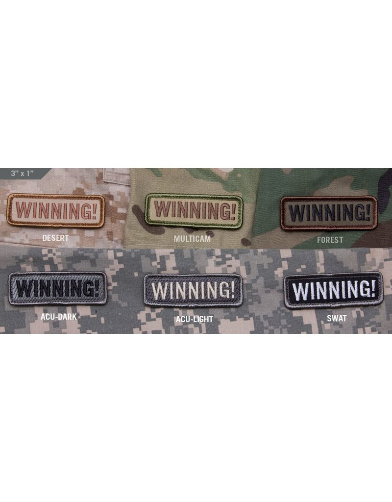Patches Mil-Spec Monkey Winning Patch, multicam