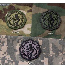 Patches Mil-Spec Monkey Man Bag PVC patch, Multi-Cam
