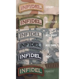 Patches Mil-Spec Monkey Infidel Tab Patch, Multicam