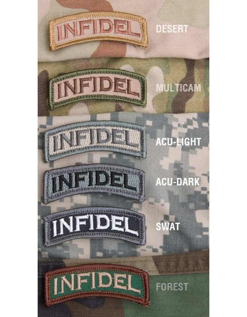 Patches Mil-Spec Monkey Infidel Tab Patch, SWAT