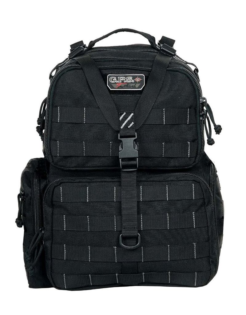 Pack and Etc (Firearm) GPS Tactical Range Backpack, Black