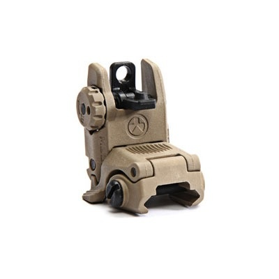 Optics MBUS (Magpul Back-Up Sight) GEN 2, . Flat Dark Earth, Rear Sight, folding back-up sight