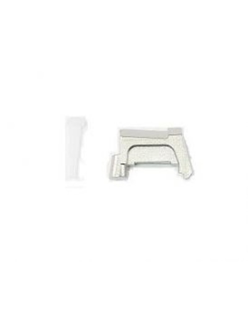 Glock Bar Chrome Extractor W/ LCI for .40 and .357