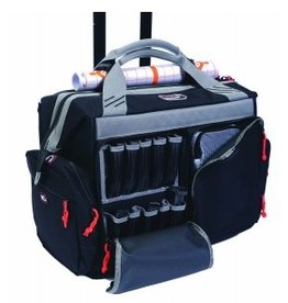 Pack and Etc (Firearm) GPS Rolling Range Bag, Black