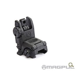 Optics MBUS (Magpul Back-Up Sight) GEN 2, Rear Sight, folding back-up sight