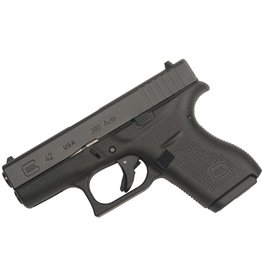 Handgun New Glock 42 Gen 4, 380 acp, fixed sights, 6 rd, 2 mags