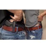Plastic Versa Carry Holster, 38 revolver, Extra Small