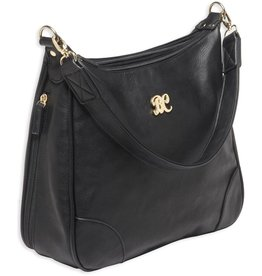 Pack and Etc (Purse) Bulldog Hobo Conceal Carry Purse, Black, includes holster
