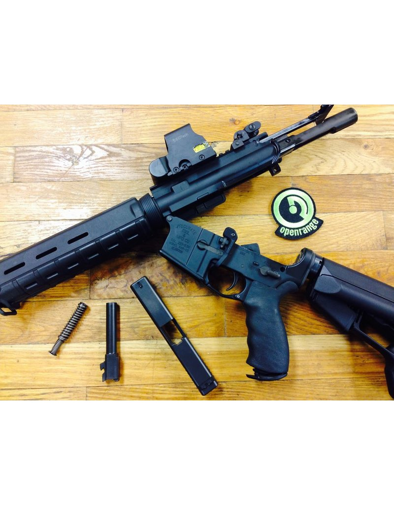 Handgun Sight install - Front and Rear - Glocks Only - Not Purchased at Openrange