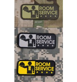 Patches Mil-Spec Monkey Room Service, PVC, Desert