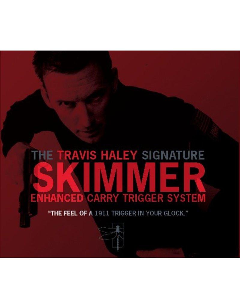 Glock Bar GLOCKTRIGGERS Travis Haley Enhanced Carry Trigger System, Gen 4, 9mm, performance of a stock 1911