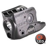 Flashlight Compact Rail Mounted Tactical Light With Integrated Red Aiming Laser