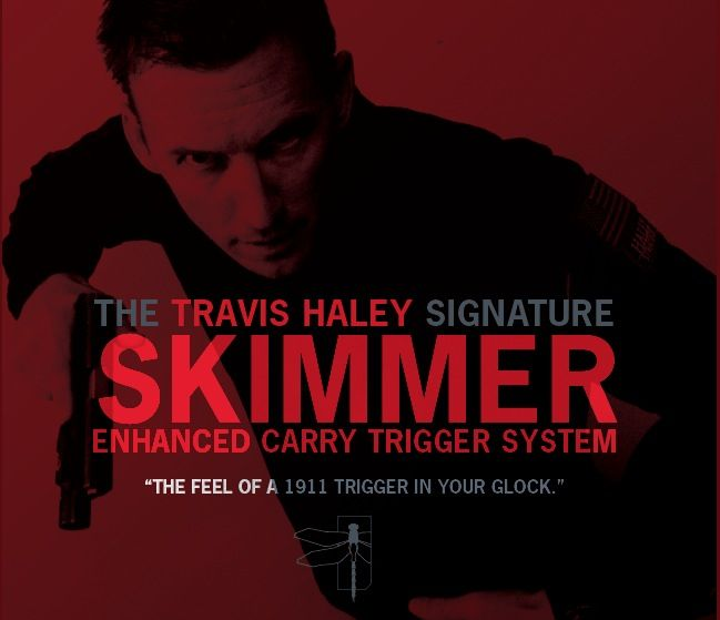 Glock Bar GLOCKTRIGGERS Travis Haley Enhanced Carry Trigger System, Gen 3, 9mm, performance of a stock 1911