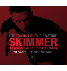 Glock Bar GLOCKTRIGGERS Travis Haley Enhanced Carry Trigger System, Gen 3, 40sw, performance of a stock 1911