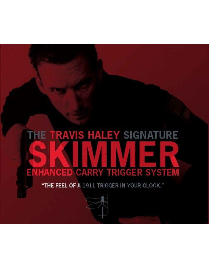Glock Bar GLOCKTRIGGERS Travis Haley Enhanced Carry Trigger System, Gen 4, 40sw, performance of a stock 1911