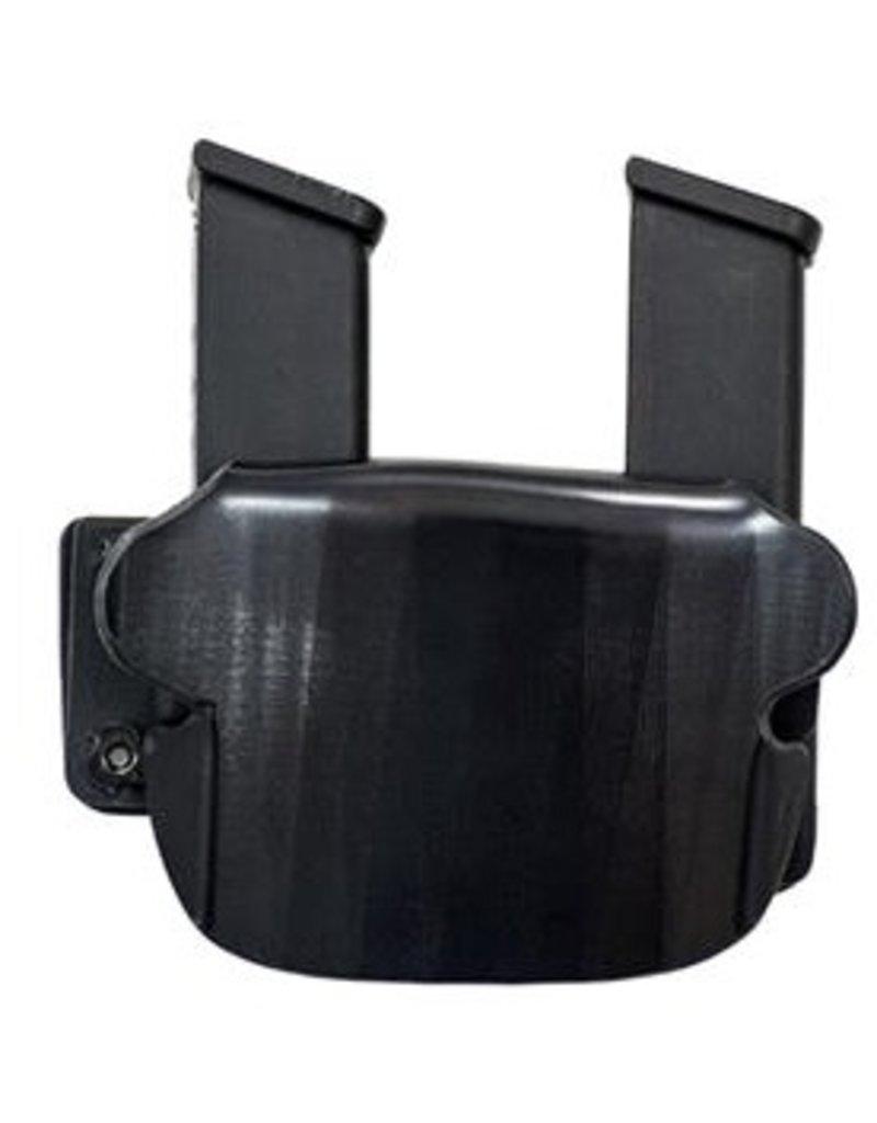 Plastic Comp-Tac Paddle Twin #4-Glock 9/40, .45 GAP, BLK, LS- R Hand