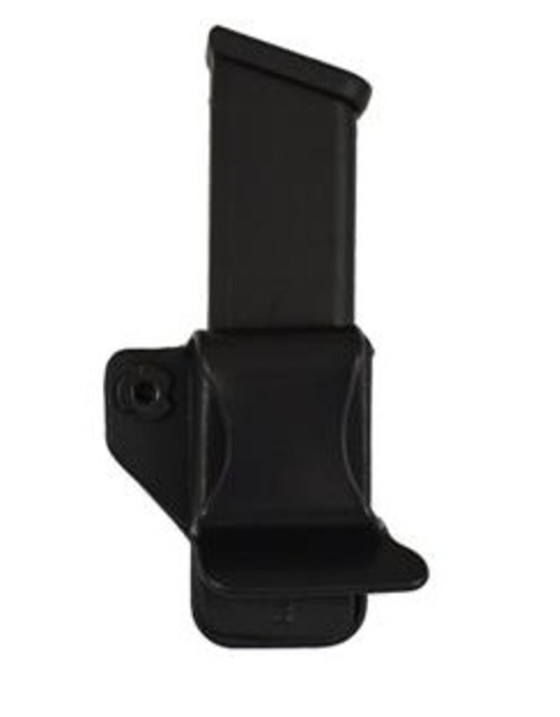 Plastic Comp-Tac Single Mag Pouch, #15-Glock 42, Black, LSC-R Hand