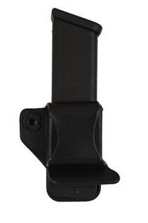 Plastic Comp-Tac Single Mag Pouch, #15-Glock 42, Black, LSC-R Hand