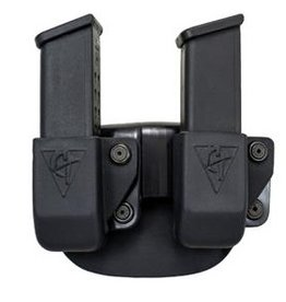 Plastic Comp-Tac Paddle Twin Glock 9/40 Mag, LH (Left-Handed)