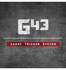 Glock Bar GLOCKTRIGGERS G43 Reduced Pre-Travel Carry Trigger Kit, 9MM