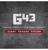 Glock Bar GLOCKTRIGGERS G43 Stock Travel Carry Trigger Kit, 9MM