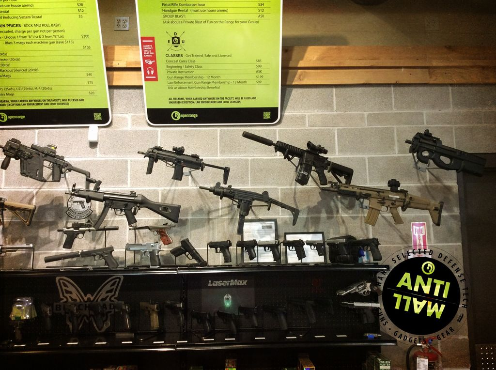Rental Triple Crown Experience -  Select 1 A List and 2 B list Machine Guns - 3 mags each (Quotes only)