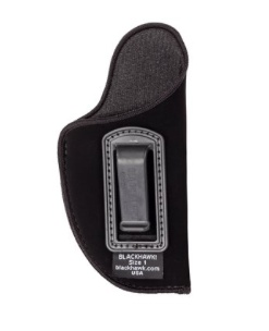 "Nylon BLACKHAWK Nylon Inside the Pants Holster for 2-3"" for small auto (.22- 25 cal), RH, Black"