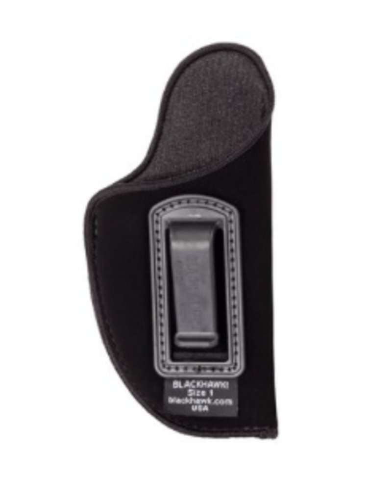 "Nylon BLACKHAWK Nylon Inside the Pants Holster, for 4 1/2""-5"" barrel large autos, RH, Black"