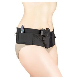 Nylon Can Can Concealment Micro Hip Hugger - Medium - Black
