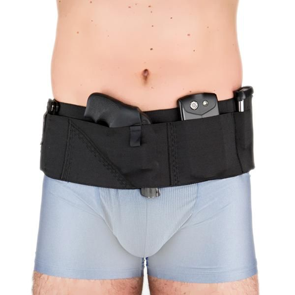 Nylon Can Can Concealment Sport Belt Classic Holster - Medium