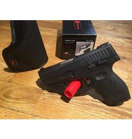 "Used Firearm USED Taurus 709 Slim, 9mm, 7 rd, 3.2"" barrel, black w/laser"