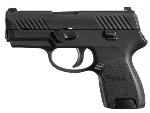 "Handgun New Sig Sauer P320SC, Sub Compact, 9mm, 3.6"" Barrel, 12 rd"