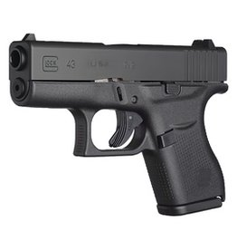 Handgun New Glock 43, 9mm, fixed sights, 6 rd, 2 mags, Made in the USA