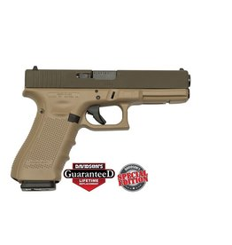 Handgun New Glock 17 Gen 4, 9 mm, 17 rd, 3 mags, Patriot Brown and Matte Brown, Special Edition (CO)
